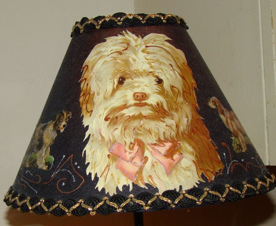 DOG LAMPSHADES