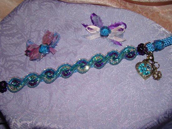 Blue Lagoon Pet Collar