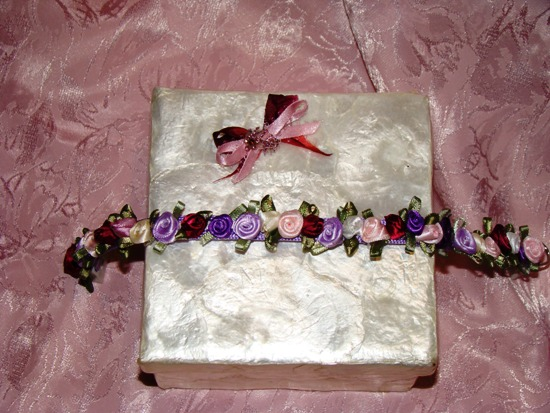 Satin Rose Garden Collar