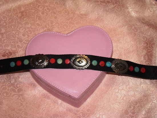 Western Wear Dog Collar