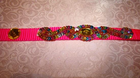 Hot Pink Pizazz Collar