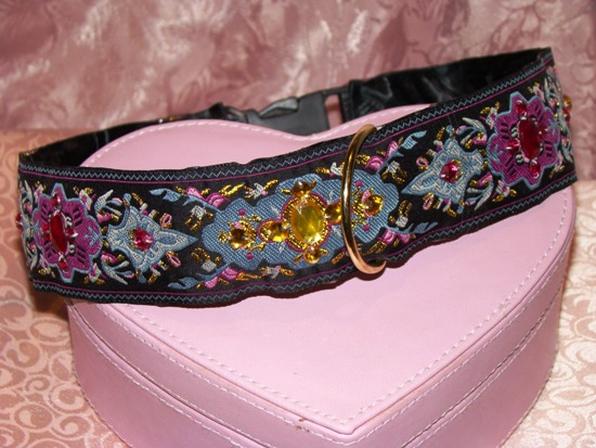 Regal Ribbon Dog Collar