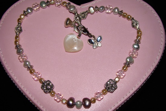 Pastel Pearls Dog Cat Jewelry