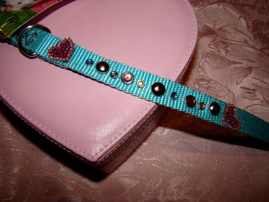 Turquoise Studded Jewel Collar