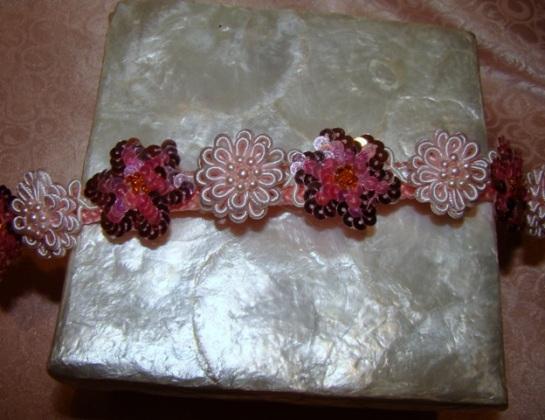Pink Delight Flower Collar