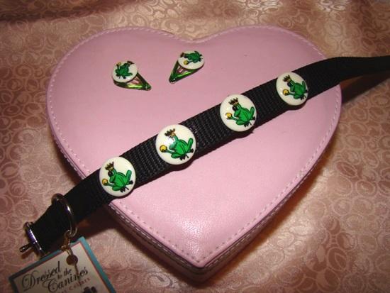 Frog Prince Dog Collar