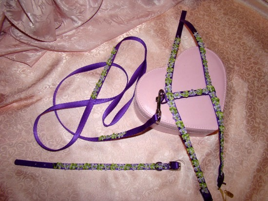 LAVENDER FLORAL RIBBON SET