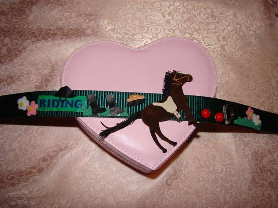 Horse Tac Motif Collar