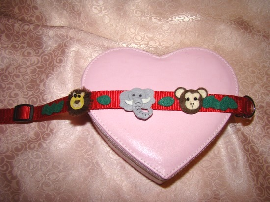 Wild Animal Dog Collar