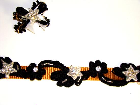 Swarovski Rhinestones Stars Collar