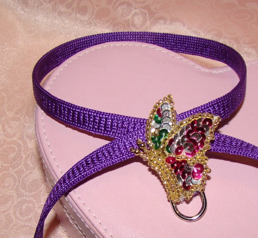 SEQUIN BUTTERFLY HARNESS