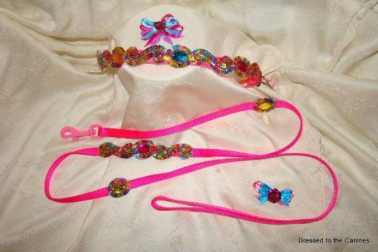 Jewels & Sequins Brite Beauty Collar Set