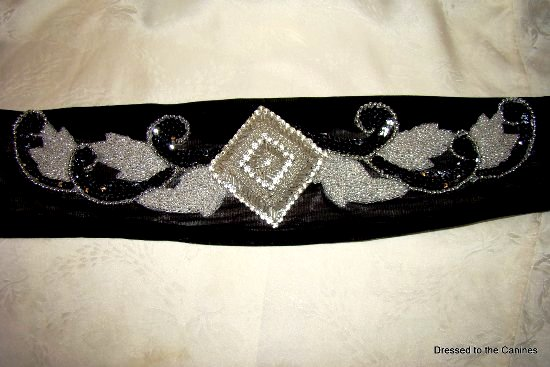 Rhinestone Diamond Beaded Sequins Womens Belt