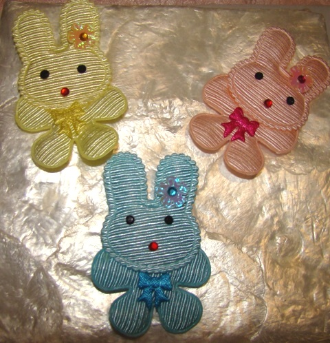 EASTER BUNNY ATTACHMENTS-Easter,attachments,bunny,rabbit,dog collar,cat collar,harnesses