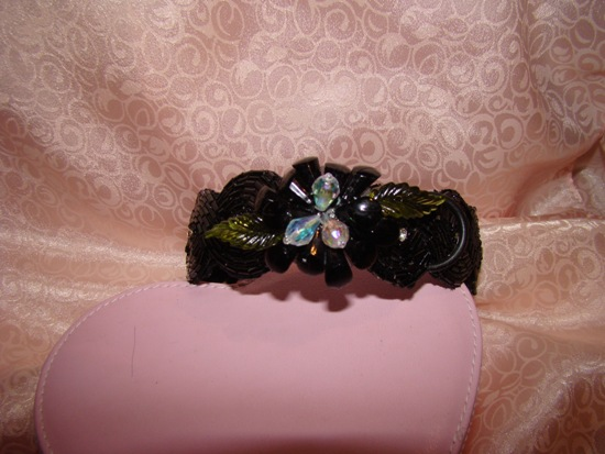 FAUX JEWELS FLOWER ATTACHMENT
