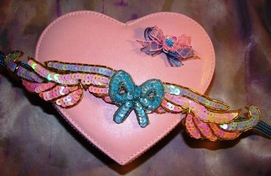 Pastel Sequin Wings Collar