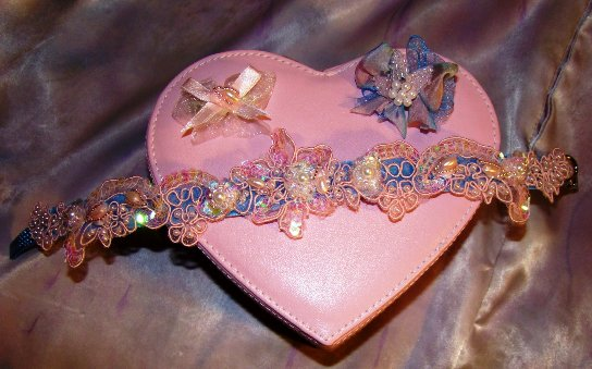 Pink and Blue Shimmer Collar