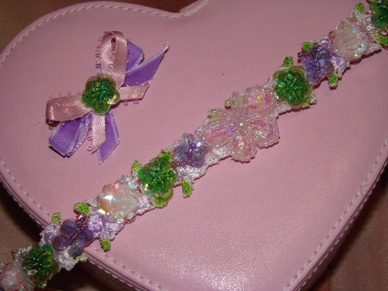 Garden Party Pet Collar
