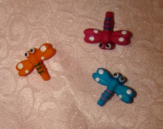 DRAGONFLY HAIR CLIPS 3