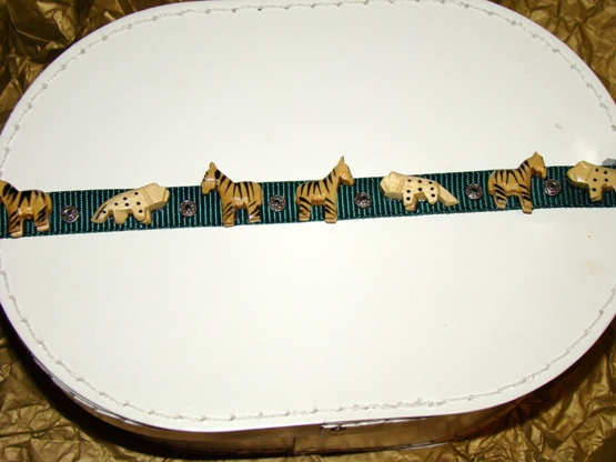 African Exotic Wild Animal Collar