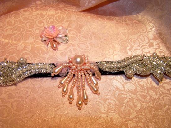 Precious Pink Pearls Collar