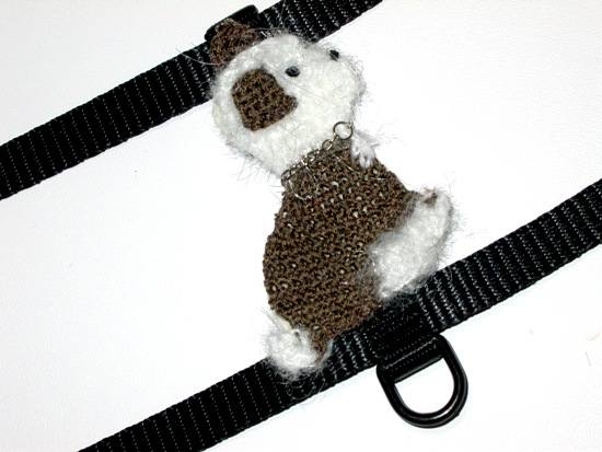Angora Puppy Dog Harness