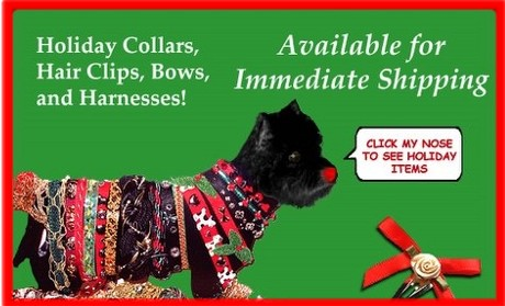 HOLIDAY COLLARS AND ACCESSORIES